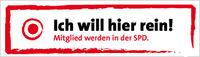 Banner: Mitglied werden in der SPD