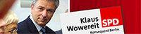 Banner: Klaus Wowereit