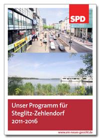Banner: Unser Programm für Steglitz-Zehlendorf