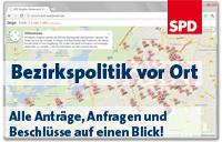 Banner: SPD Suedwest vor Ort