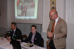 v.l.n.r.: Dr. Nußbaum, Marius Niespor, Rolf Wiegand