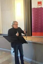 Dr. Matthias Kollatz-Ahnen bei seiner Rede vor der KDV