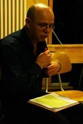 Direktkandidat für das Abgeordnetenhaus und Abteilungsvorsitzender Rolf Wiegand