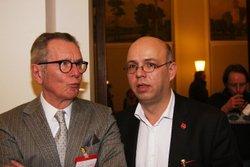 Dr. Kurt Lange und Rolf Wiegand