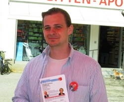 Bezirksverordneter Dominic Stingl